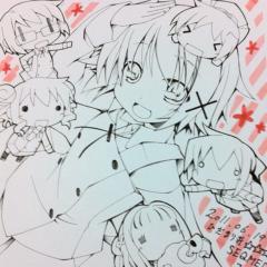 ひだまり荘☆☆☆☆色紙